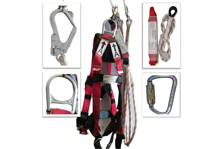 Full Body Harness Set with Energy Absorber