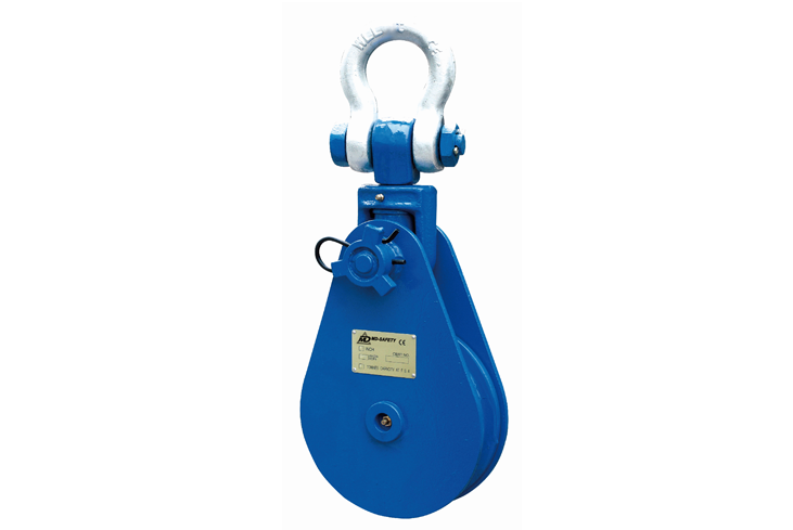 Heavy Duty Snatch Block With Shackle